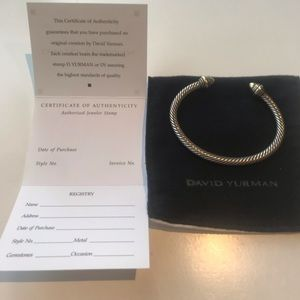 David Yurman Jewelry - Authentic David Yurman Bracelet